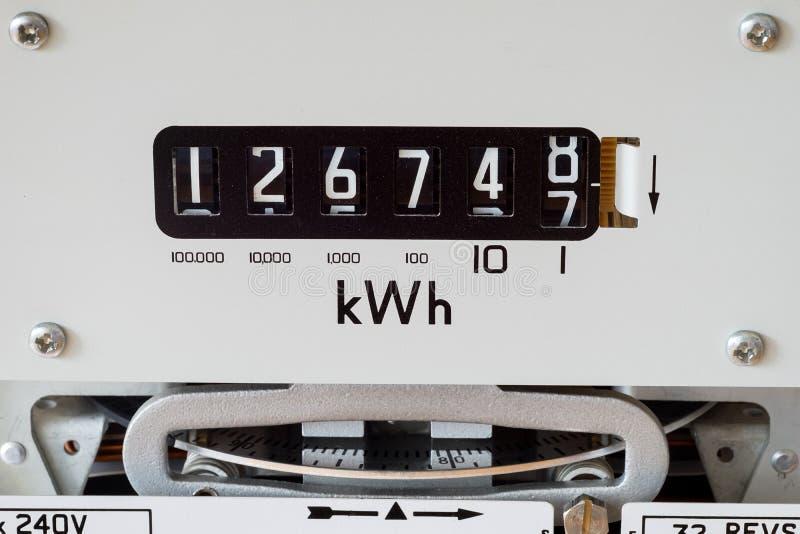 Primer del metro eléctrico foto de archivo