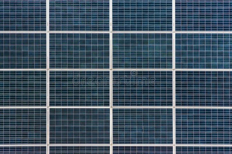 Primer del panel solar de la textura imagen de archivo libre de regalías