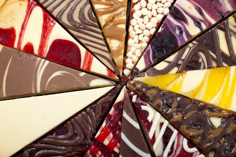 Primer Del Pastel De Queso Fotografía de archivo libre de regalías