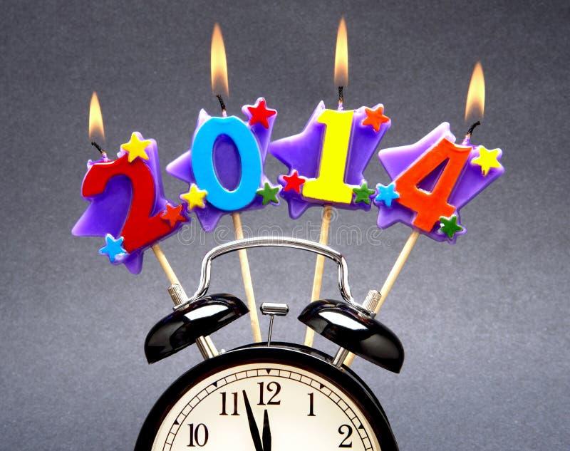 ¡2014 feliz! fotografía de archivo