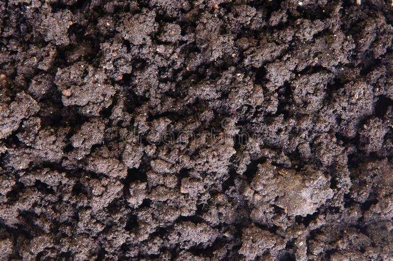 Primer del suelo seco foto de archivo