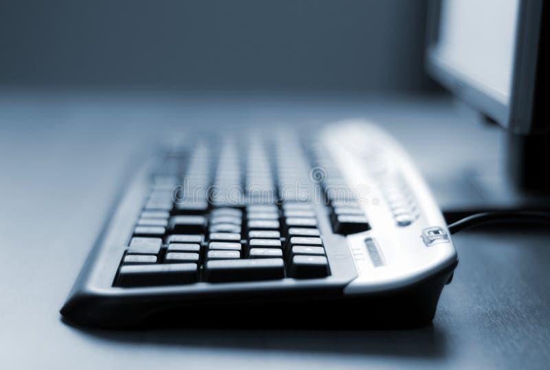 Primer del teclado de ordenador imágenes de archivo libres de regalías