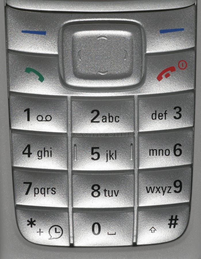 Primer del teléfono móvil fotos de archivo