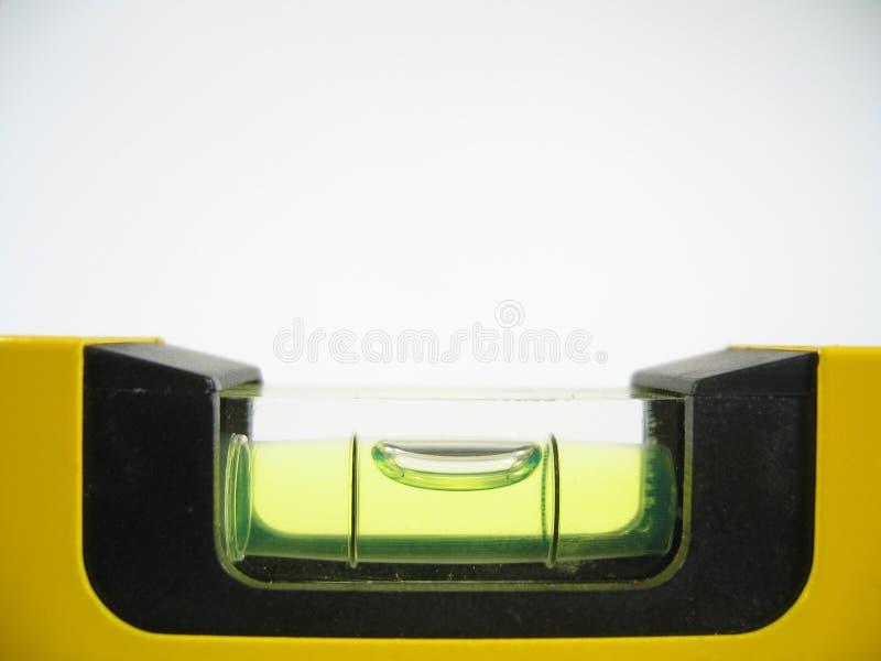 Primer del tubo de burbuja fotografía de archivo