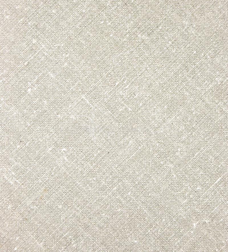 Primer diagonal de lino natural ligero de la macro de la textura fotografía de archivo libre de regalías