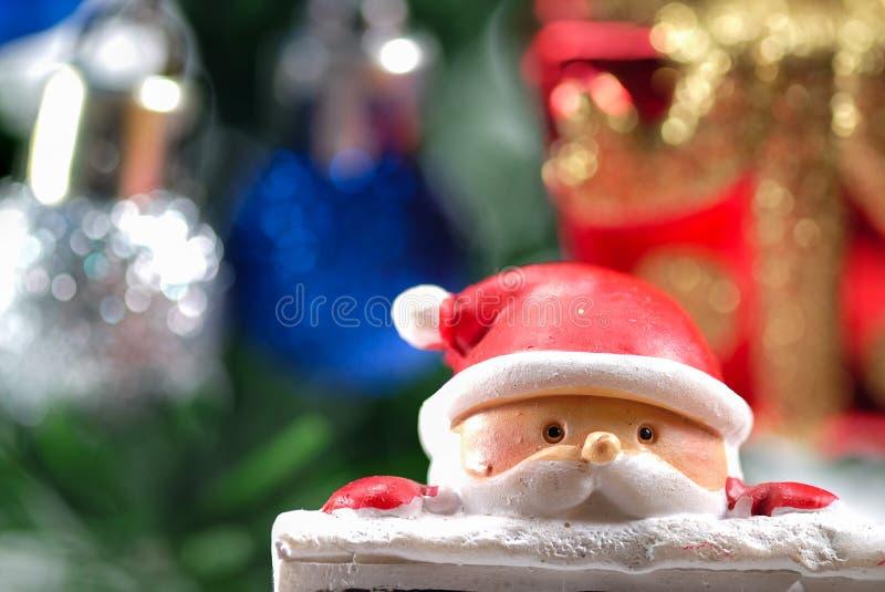 Primer en la muñeca de santa imagen de archivo libre de regalías