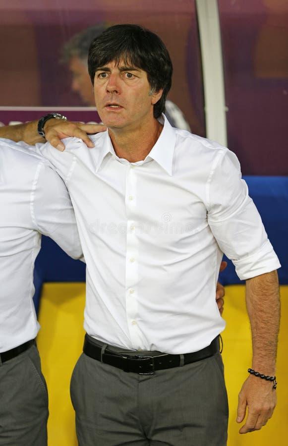 Primer entrenador Joaquín de las personas nacionales de Alemania inferior imagenes de archivo
