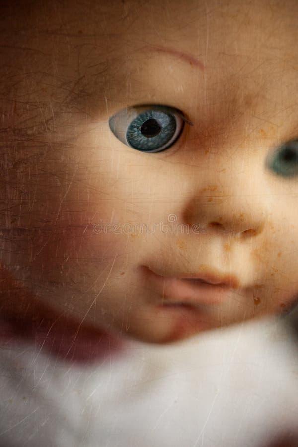 Primer espeluznante de la muñeca imágenes de archivo libres de regalías