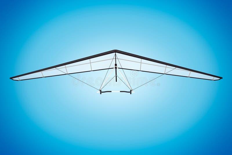 Primer extremo Hang Gliding fotos de archivo
