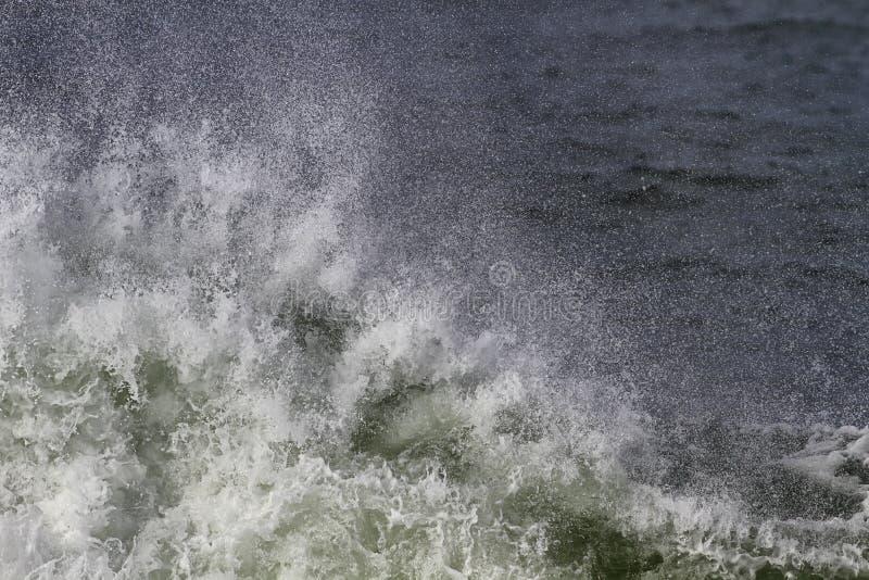 Primer grande de la onda de fractura fotos de archivo libres de regalías