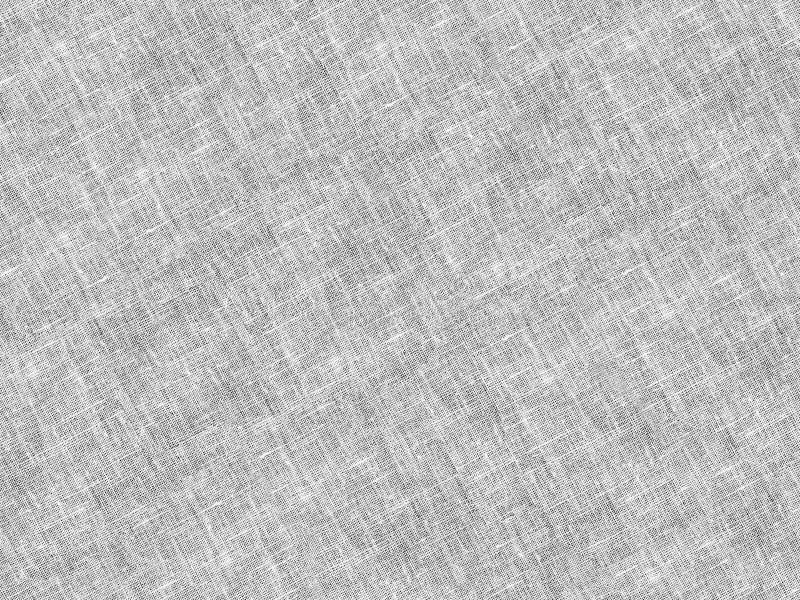 Primer gris blanco, lino y dril de algodón de la tela ligera foto de archivo libre de regalías