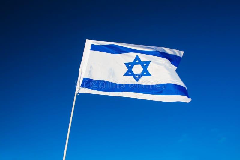 Primer israelí de la bandera imagen de archivo libre de regalías