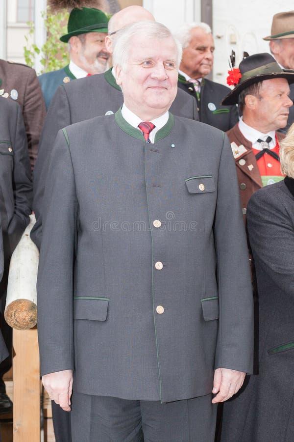 Primer ministro Horst Seehofer del CSU foto de archivo libre de regalías
