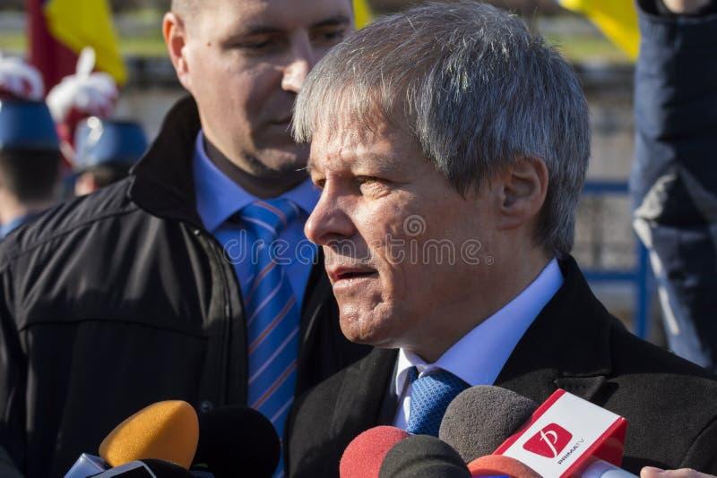 Primer ministro rumano Dacian Ciolos imágenes de archivo libres de regalías