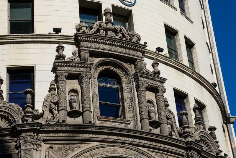 Primer National Bank del edificio de Boston foto de archivo libre de regalías