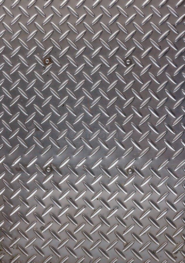 Primer rayado de la placa de acero imagenes de archivo