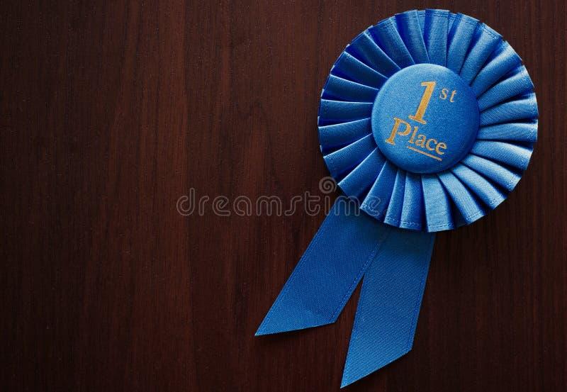 Primer rosetón de los ganadores del lugar fotos de archivo libres de regalías