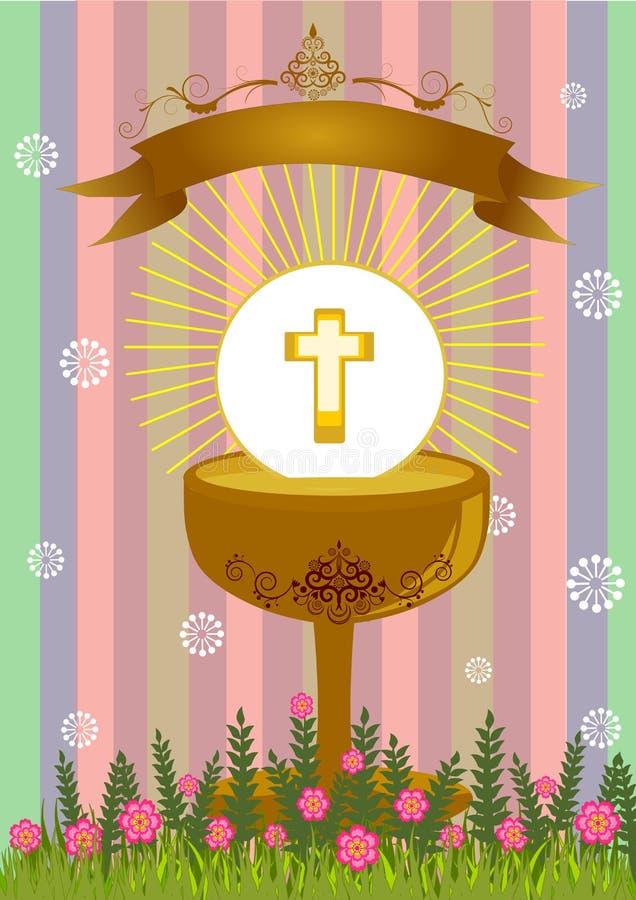 Primera comunión santa libre illustration