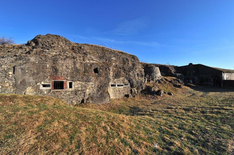 Primera fortaleza Douaumont de la guerra mundial fotografía de archivo