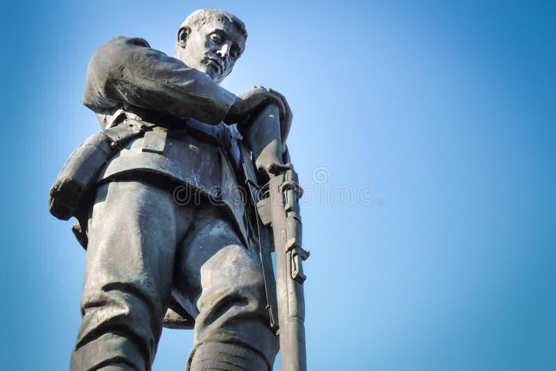 Primera Guerra Mundial y monumento dos fotos de archivo libres de regalías