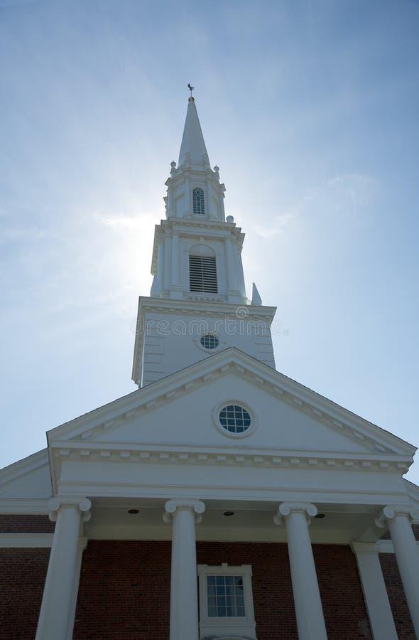 Primera iglesia de Cristo de congregación imagen de archivo