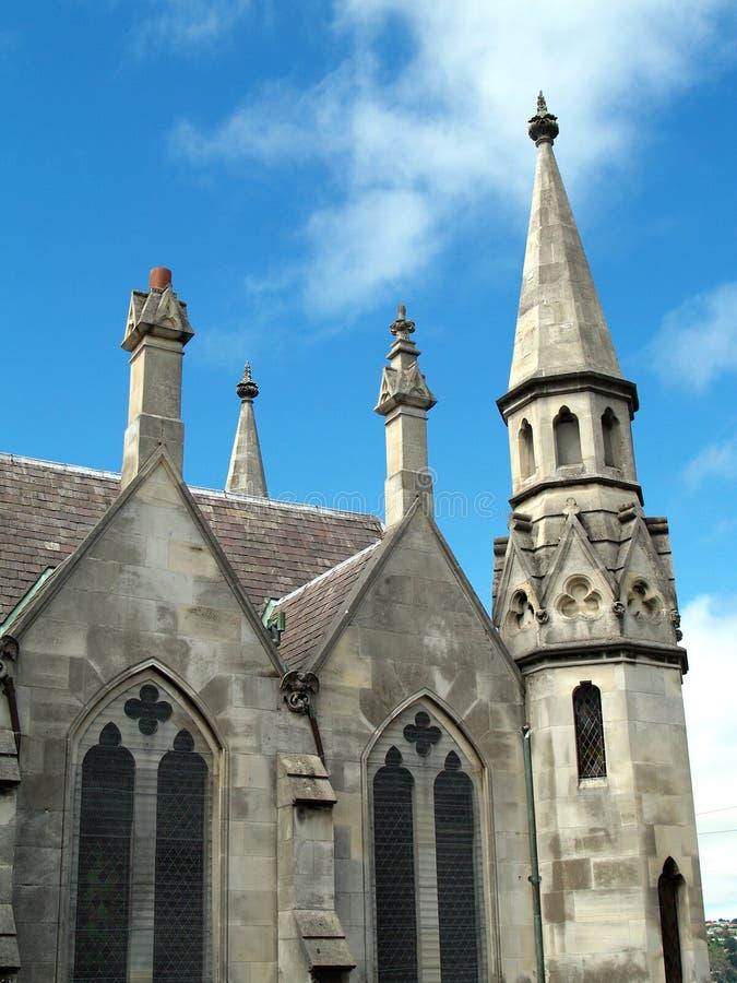 Primera iglesia de Otago, Dunedin, Nueva Zelanda imágenes de archivo libres de regalías
