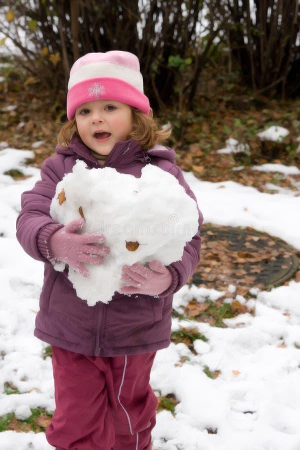 Primera nieve imágenes de archivo libres de regalías