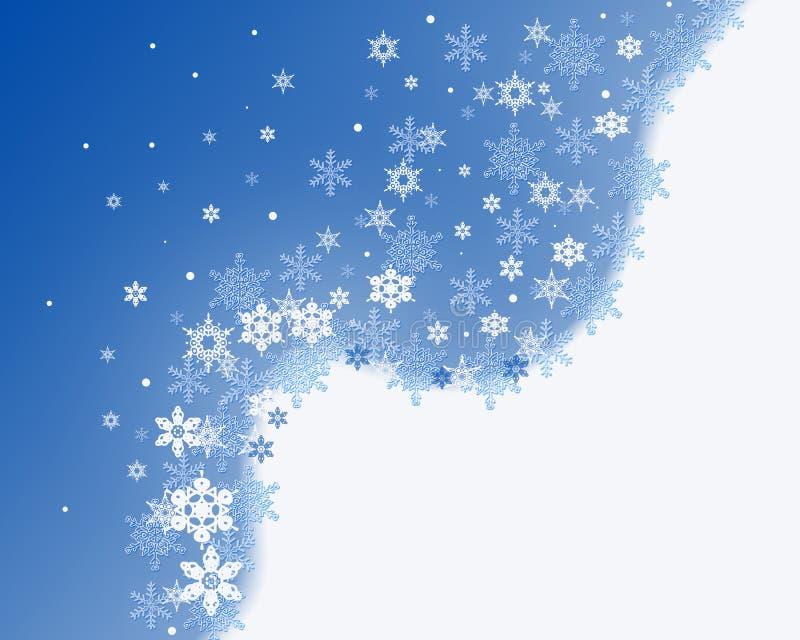 Primeras nevadas ilustración del vector