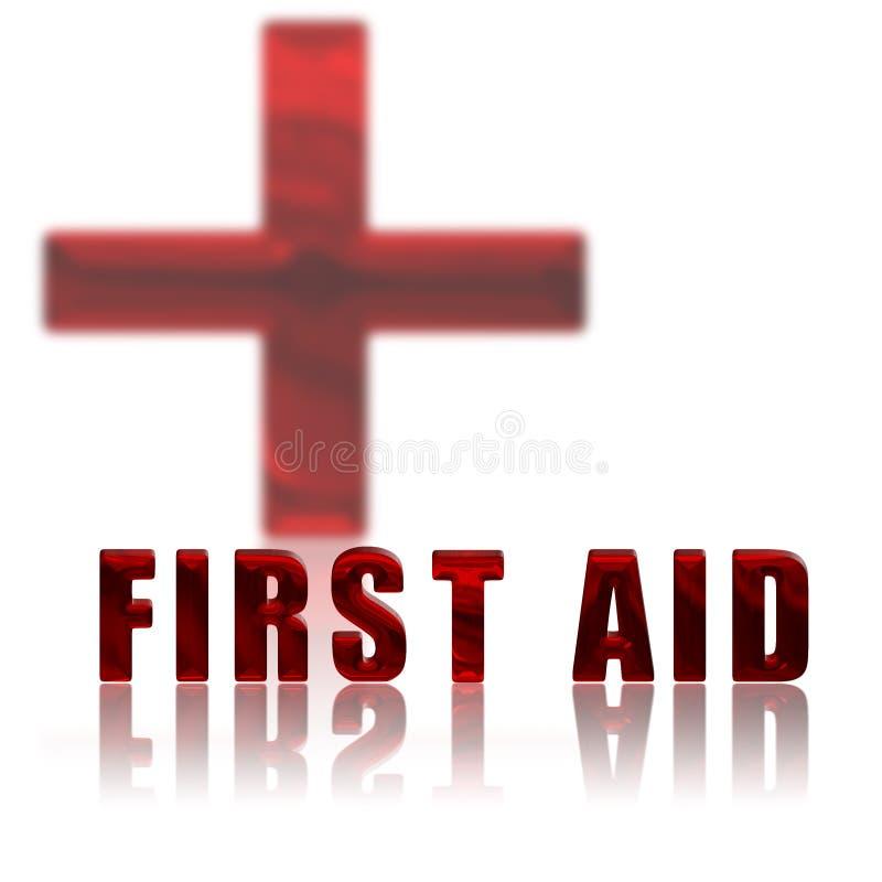 Primeros auxilios y Cruz Roja libre illustration