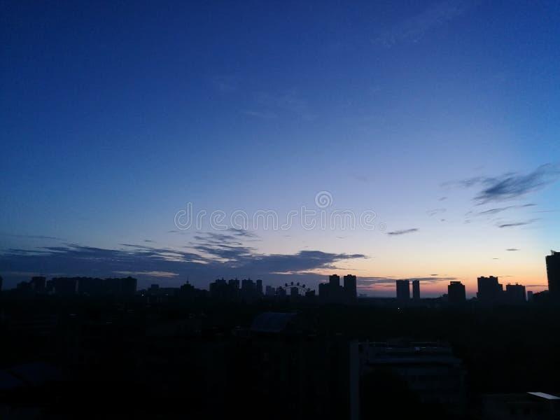 Primeros rayos del sol de la mañana fotos de archivo libres de regalías
