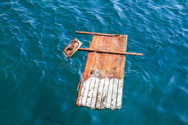 Primitive raft stock photos