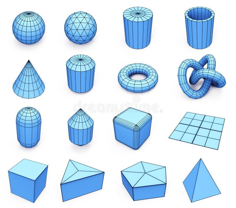 primitivos ilustración del vector