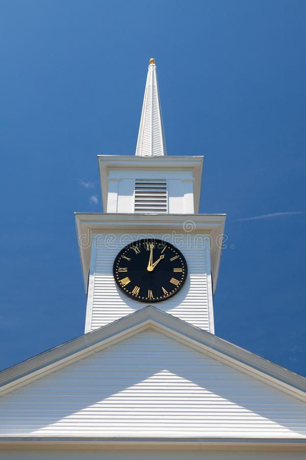 Primo Baptist Church in Hyannis, Massachusetts, U.S.A. fotografia stock libera da diritti
