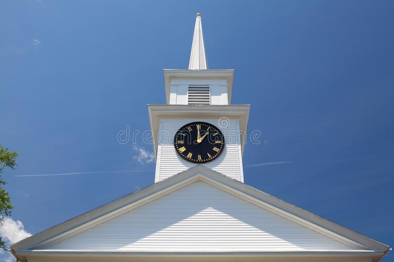 Primo Baptist Church in Hyannis, Massachusetts, U.S.A. fotografia stock