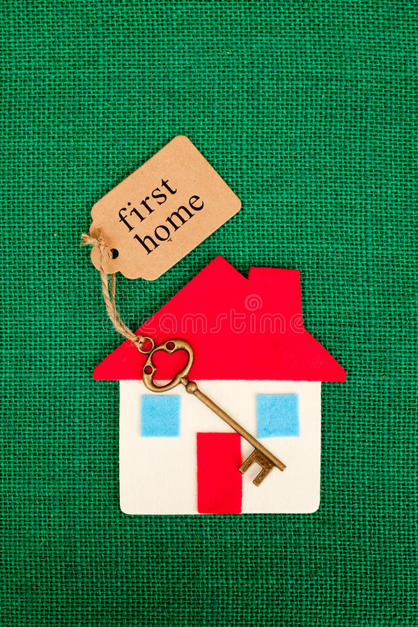 Primo domestico di casa fotografia stock