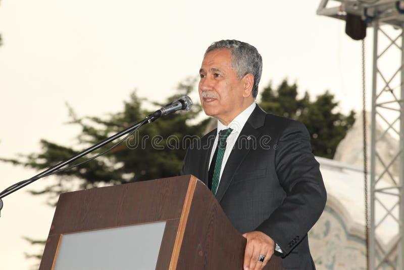 Primo Ministro Bülent Ar?nç di Debuty fotografia stock libera da diritti