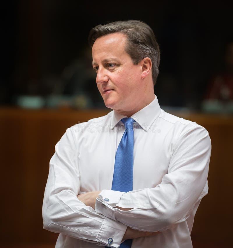 Primo Ministro britannico David Cameron immagine stock libera da diritti