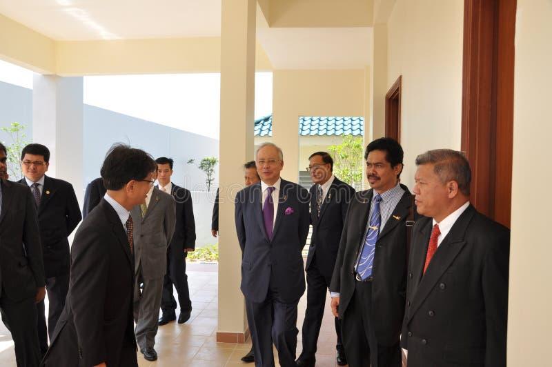Primo Ministro della Malesia immagine stock libera da diritti