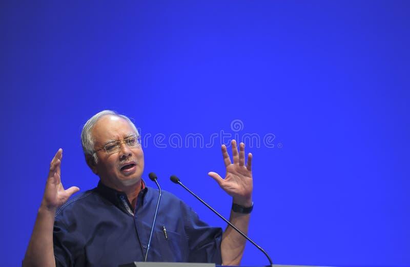 Primo Ministro della Malesia, Najib Razak fotografia stock libera da diritti