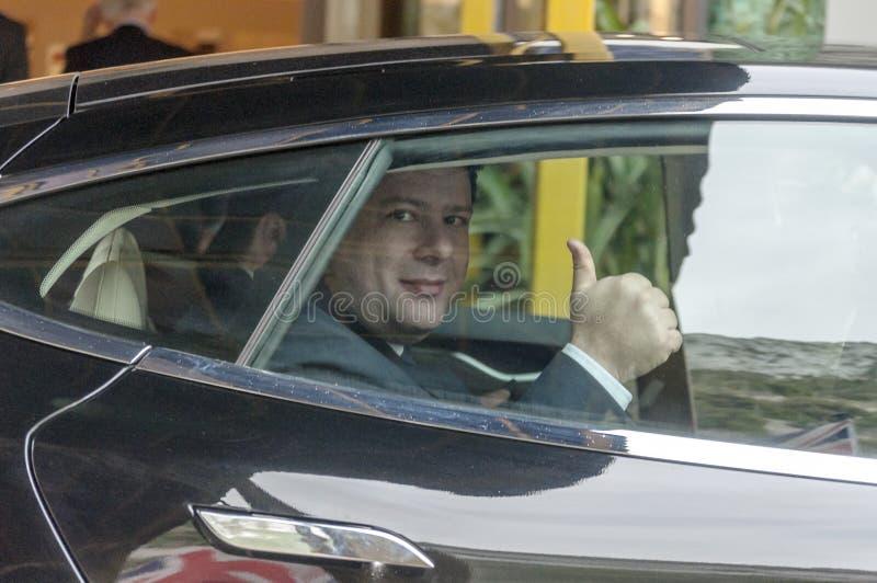 Primo Ministro Peter Caruana fotografia stock libera da diritti