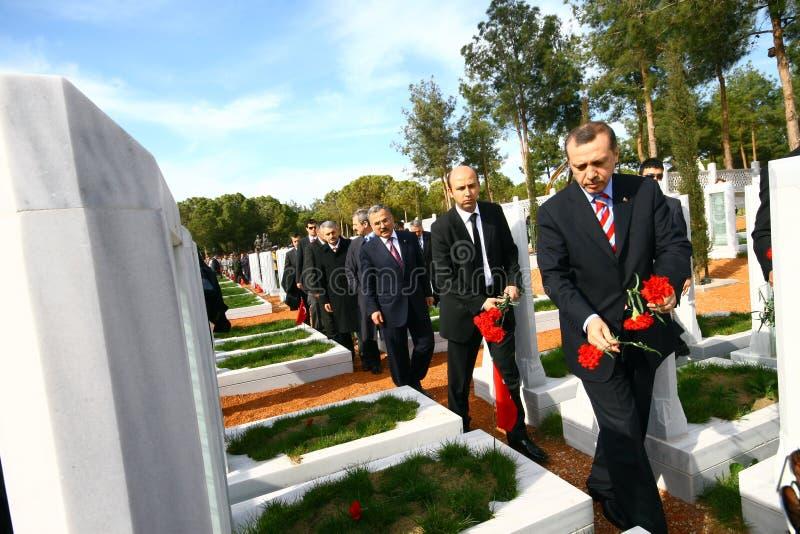 Primo Ministro turco fotografia stock