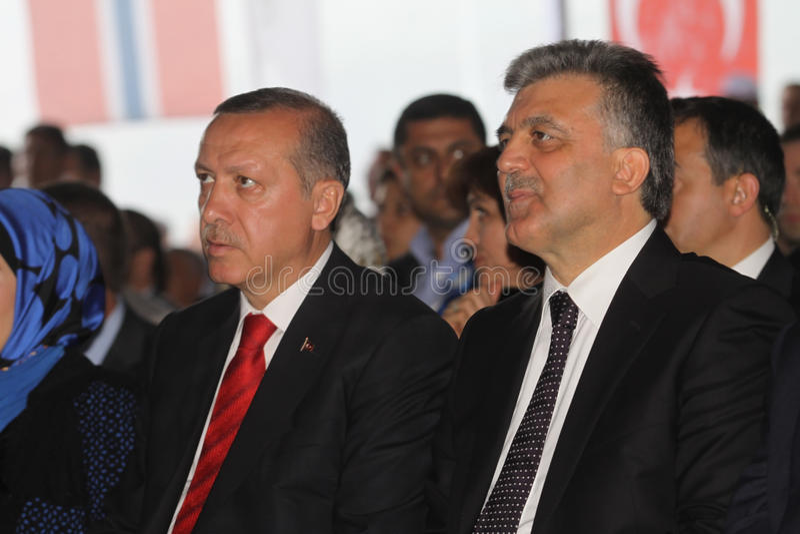 Primo Ministro turco fotografie stock