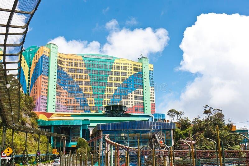 Primo mondo dell'hotel agli altopiani di Genting fotografia stock
