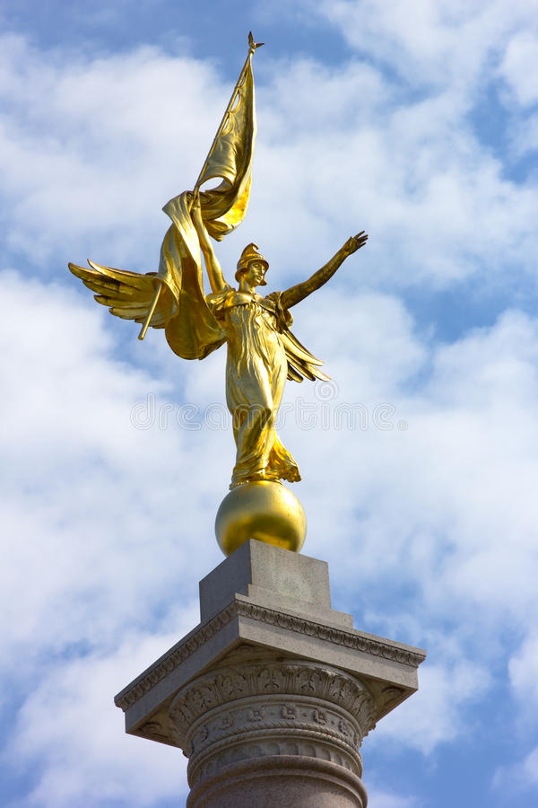 Primo monumento di divisione, Washington DC, U.S.A. immagine stock
