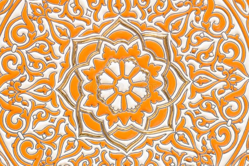 Primo piano ceramico andaluso immagini stock
