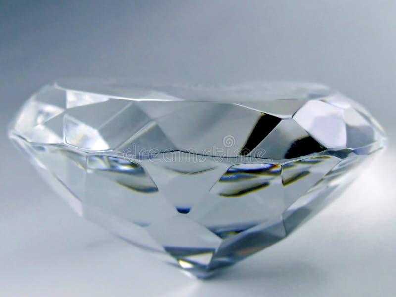 Primo piano del diamante immagine stock libera da diritti