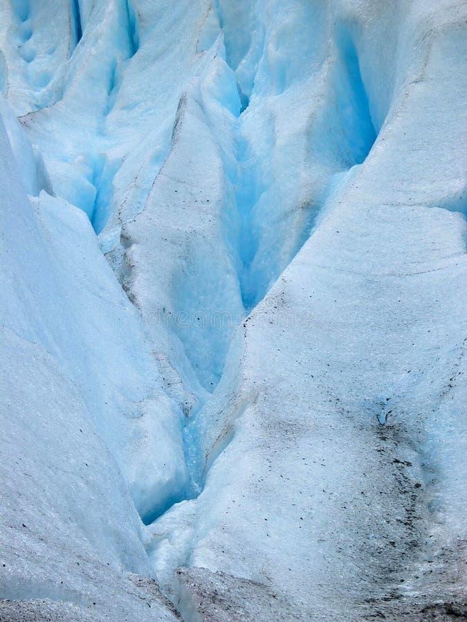 primo piano del ghiacciaio fotografia stock