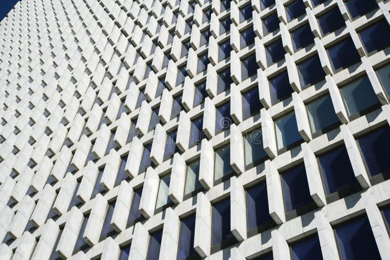Primo piano del grattacielo immagini stock