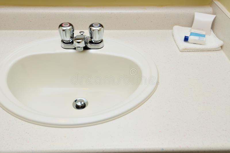 Primo piano del lavabo della mano immagini stock libere da diritti