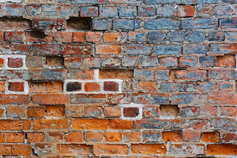 Primo piano del muro di mattoni immagine stock libera da diritti